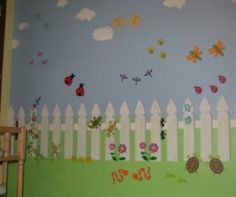 Garden Themed Nursery Murals : Nursery Murals and More