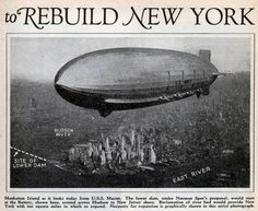 A couple of years ago we looked back at the terrible 1924 traffic congestion solution, in which the plan was to drain the East River. Turns out the people of the past also had big plans for the Hudson