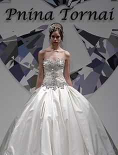 what girls doesnt want a PNINA TORNAI wedding dress :)
