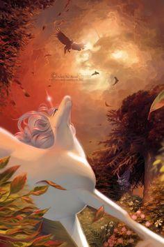 The Last Unicorn by AshleyKerins.deviantart.com on @DeviantArt