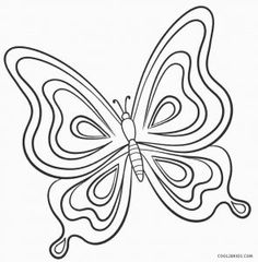 Monarch Butterfly Coloring Pages Largest Cartoon Butterfly Coloring Easy Butterfly Drawing, Butterfly Outline, Butterfly Sketch, Butterfly Tattoo Cover Up, Cartoon Butterfly, Simple Butterfly, Butterfly Illustration, Butterfly Template, Butterfly Tattoo Designs