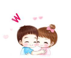⊙손글씨~♥ : 네이버 블로그 Cute Couple Pictures Cartoon, Gif Pictures, Chibi Couple, Anime Love Couple, Korean Anime, Cute Cartoon Wallpapers, Cute Gif, Cute Crafts, Cute Couples