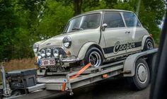 On road to imm Mini Cooper S, Mini Cooper Classic, Cooper Car, Classic Mini, Classic Cars, Mini Morris, Morris Minor, Mini Clubman, Smart Car