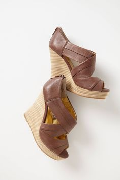 anthropologie wrap wedges