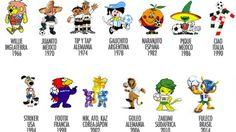 Las mascotas de los Mundiales son otra movida de la publicidad para llegar mejor a los niños y vender más merchandising. ¿Cuáles han sido las mejores? Para mi, Striker y Footix, casi sin discusión. En el último tiempo han perdido fuerza. #Mundial2014 #WorldCup #Brasil2014