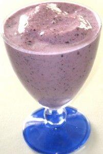 blueberry banana smoothie O Blood Type