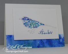 Hi everyone.  One more Inlaid Die-cutting card for April's CAS Mix Up Challenge , which ends in four days.      This is a thank you card I...