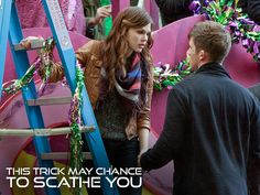 """Star-Crossed -- """"This Trick May Chance to Scathe You"""" -- Image Number: -- Pictured (L-R): Aimee Teegarden as Emery and Matt Lanter as Roman -- Photo: Hilary Bronwyn Gayle/The CW -- © 2014 The CW Network, LLC. All rights reserved. Star Crossed, Aubrey Peeples, Malese Jow, 10 Years After, Aimee Teegarden, Falling Skies, The Cw Shows, Best Duos, Matt Lanter"""