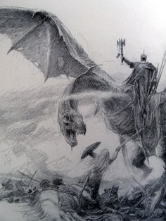 The Lord of the Rings Sketchbook - by Alan Lee