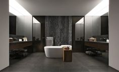 Stylish Dark-Toned Interior in Istanbul Designed by Tanju Özelgin