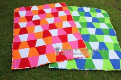 Piecing and Binding a Quilt: How to do everything by machine. www.makeit-loveit.com
