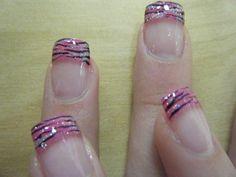 Pink Zebra - Nail Art Gallery Archive - nailsmag.com