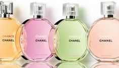 Chanel Chance Eau Vive perfume floral fragrance for women - scents Perfume Chanel Chance, Chance Chanel, Perfume Scents, Best Perfume, Fragrance Parfum, Perfume Bottles, Perfume Diesel, Perfume Packaging, Perfume Collection