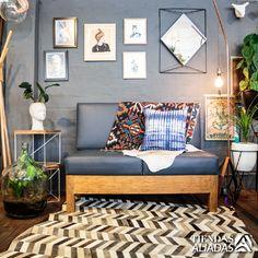 Espacios African Leather Tapetes - Medellín.  Tapetes de cuero y personalizados.