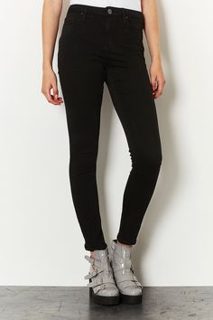 MOTO Black Rinse Jamie Jeans - my favourite jeans, they are cut a bit short though.