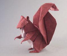 Ardilla diseñada por Michael Lafosse