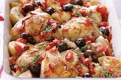 My Kitchen: Mediterranean Chicken