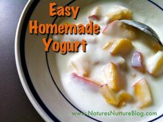 Homemade Yogurt w/Pictures! {Dairy Diaries} Easy Homemade Yogurt w/Pictures! {Dairy Diaries} - Nature's NurtureLaw of nature Law of nature or Laws of nature may refer to: Homemade Yogurt, Homemade Butter, Plain Yogurt Recipes, Dairy Diary, Spice Mixes, Diy Food, Organic Recipes, So Little Time, Yummy Food