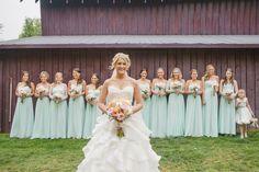 Vintage Chic Cedarwood Wedding:: Bridesmaid Dresses is Jasmine B2 #b2078