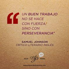 En la perseverancia encontraréis la clave queridos emprendedores! Os deseo un magnífico martes. =)  #frases   #frasedeldia