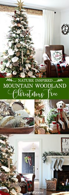 Our Mountain Woodland Christmas Tree