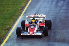 Ayrton Senna (Toleman) Imola 1984