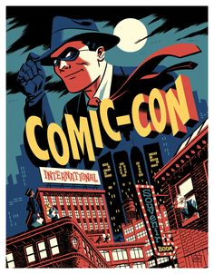 Michael Cho's sketchbook: Comic-Con International 2015 Souvenir Book Cover