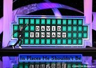 david tennant in places he shouldnt be-Wheel of Fortune