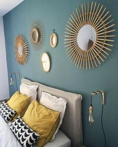 … 🔅☀️🌞 # —— interiordesign deco decoration geneva # - Home Decoration Warm Bedroom, Home Bedroom, Master Bedroom, Bedroom Decor, Bedrooms, Childs Bedroom, Stylish Bedroom, Bedroom Wall, Bedroom Ideas