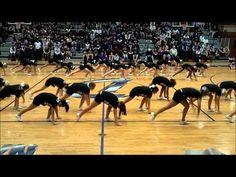 Dutchtown High School Varsity Cheer - Zachary Pep Rally - YouTube