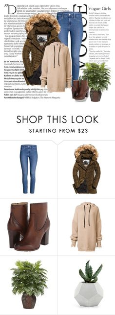 """""""Fall"""" by mandeerose ❤ liked on Polyvore featuring Superdry, Frye, Unravel, Balmain and Nearly Natural"""