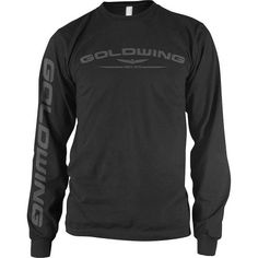 Honda Goldwing Men's Long-Sleeve Sports Wear Shirt - Black / X-Large by Honda, http://www.amazon.com/dp/B005WQXNWE/ref=cm_sw_r_pi_dp_FbyXqb1HYFKTX