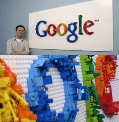 Man has a lot of time on his hands Funny Translations, Lego Wall, Lego Worlds, Lego Pieces, Lego Brick, Lego Star Wars, Legos, Geek Stuff, Diy Projects