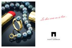 Ateliers Saint Germain - Jewels Made In France - Chic Fashion - Real Tahitian Pearls -