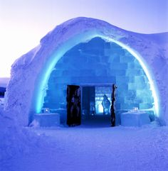 Ice Hotel, Sweden. I wanted so bad to get up there during my mission, but I was never called to Luleå, which is the area the ice hotel is in