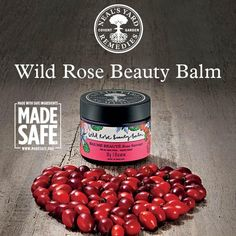Wild Rose Beauty Balm is certified Made Safe. This product has so many uses and makes my skin feel so good!