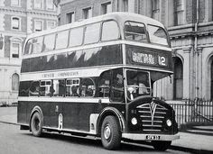 Foden Double Deck Bus by colinfpickett, via Flickr