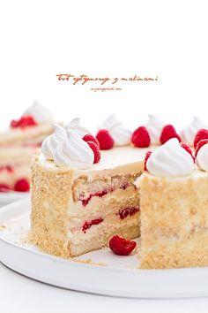 Lemon cake | Tort cytrynowy | Moje Wypieki