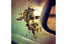 こぼしたコーヒーが生まれ変わる ── コーヒーアート