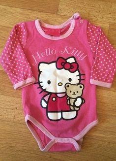 Kaufe meinen Artikel bei #Mamikreisel http://www.mamikreisel.de/kleidung-fur-madchen/bodies/18471013-mega-susser-hello-kitty-bodie
