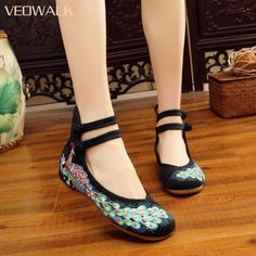 Woman Flat Shoes | Sequinned Peacock Embroidery Shoes  Price: 25.54 & FREE Shipping #computers #shopping #electronics #home #garden #LED #mobiles #rc #security #toys #bargain #coolstuff |#headphones #bluetooth #gifts #xmas #happybirthday #fun