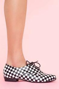 Uniform Checkerboard Oxford
