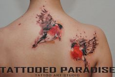 Tattooo Artist Aleksandra Katsan by tattooedparadise.deviantart.com on @DeviantArt
