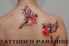 Tattooo Artist Aleksandra Katsan by tattooedparadise.deviantart.com on @DeviantArt