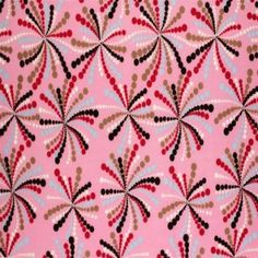 Child Fabric – Firework Pink