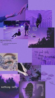 Purple aesthetic collage by Jakiah   Redbubble in 2021   Iphone wallpaper vintage, Purple wallpaper iphone, Purple wallpaper