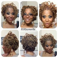 Loc Hairstyle