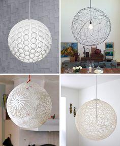 .Astonishing DIY Light Fixtures Diy pendant light tutorial
