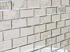 Antiqued Mirror Beveled Wall Tiles Bathroom Kitchen MY Furniture Brick Size In Home DIY Decor Mirrors