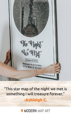 Looking for that perfect gift for your anniversary, engagement, first kiss, or any moment that made your heart skip a beat? Get that special person a one-of-a-kind star map of the night sky on the night that meant the most to you. Diy Gifts For Boyfriend, Gifts For Him, Husband Gifts, Meaningful Gifts For Boyfriend, Homemade Gifts For Girlfriend, Boyfriend Presents, Diy Gifts For Friends, Creative Gifts, Cool Gifts
